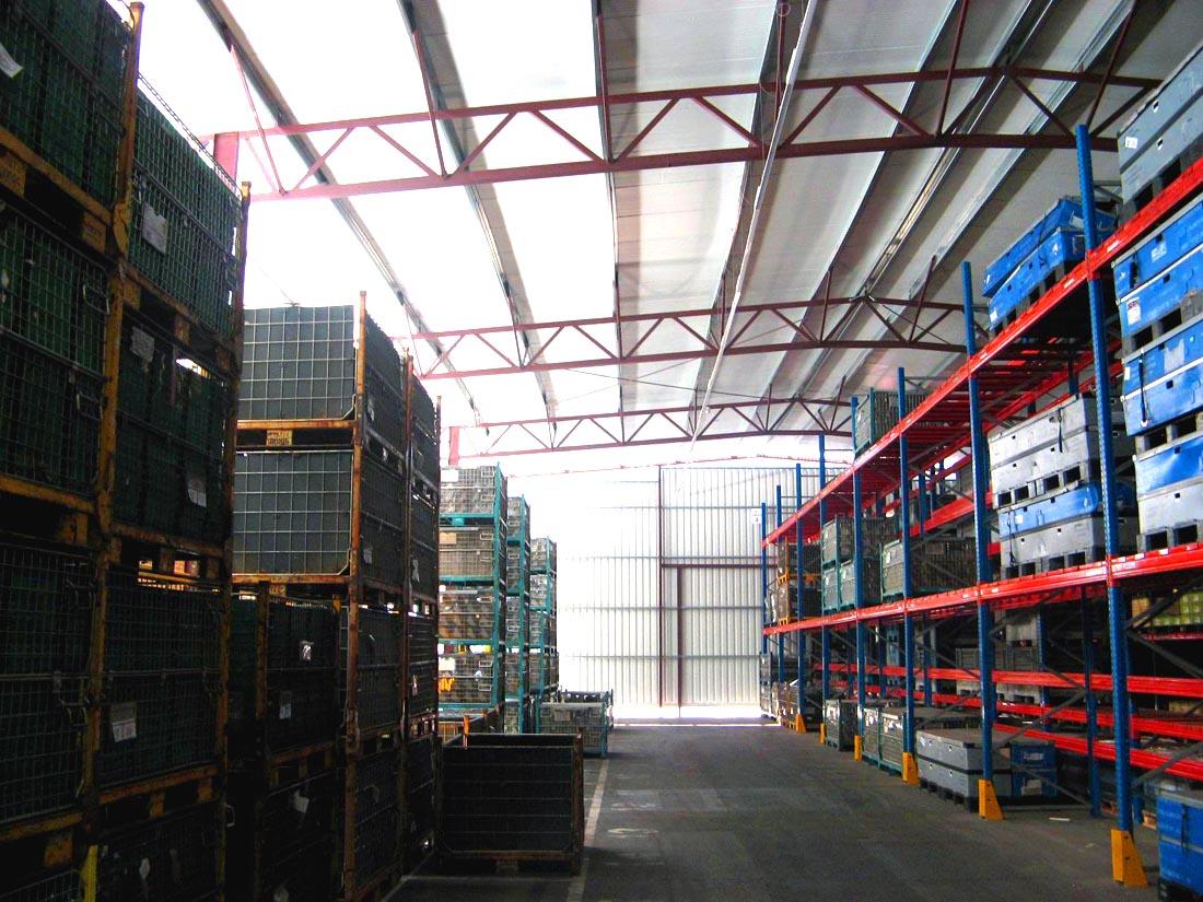 Naves industriales 42 m2 estructuras metalicas nave - Cubiertas metalicas ligeras ...