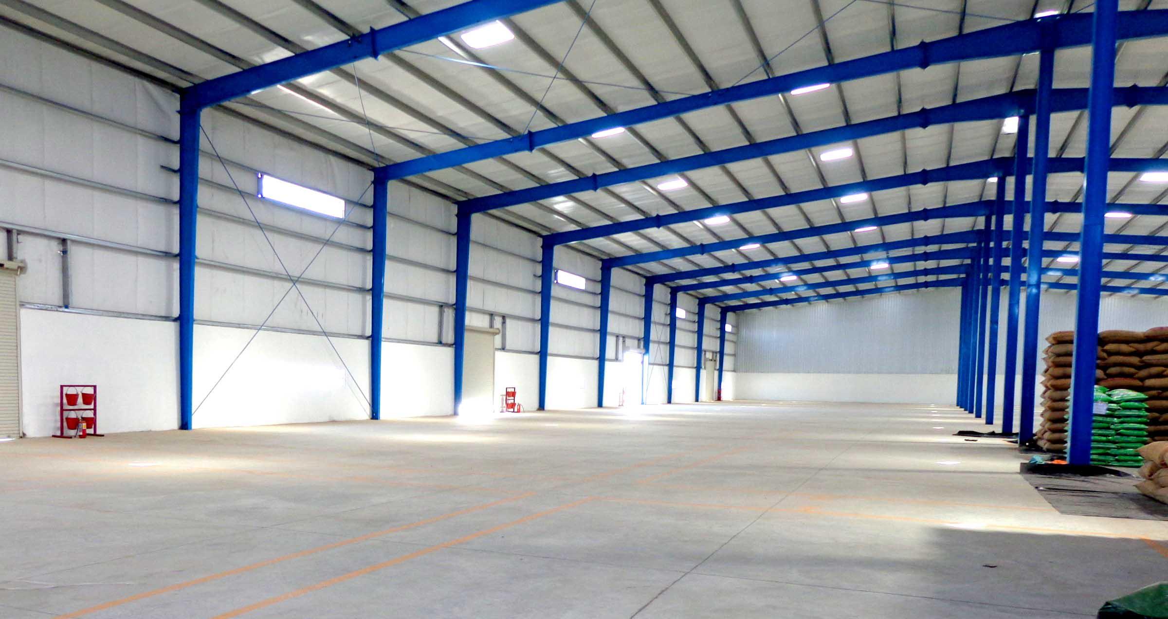 Cubiertas ligeras 22 m2 cubiertas autoportante - Diseno nave industrial ...