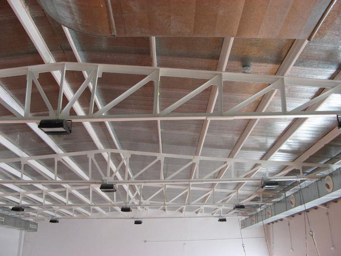 Nave industrial 42 m2 estructuras metalicas cubiertas - Cubiertas metalicas ligeras ...
