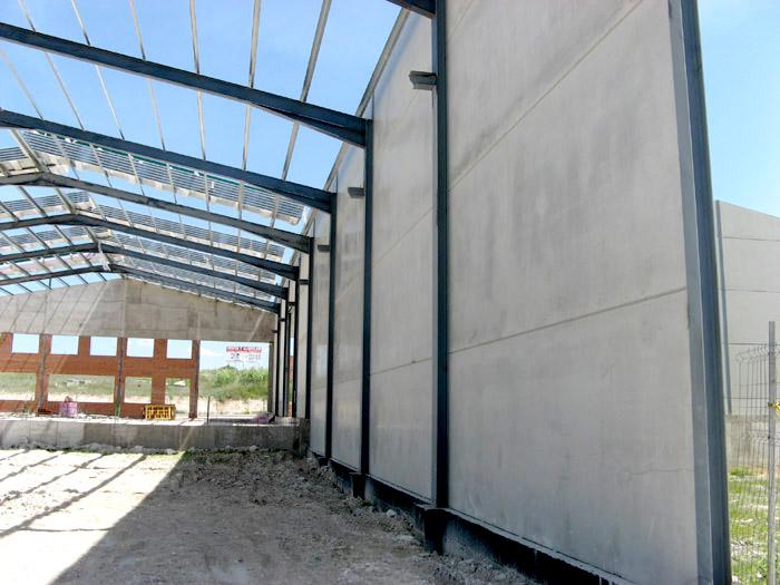 Nave industrial 42 m2 estructuras metalicas cubiertas - Precio estructura metalica ...