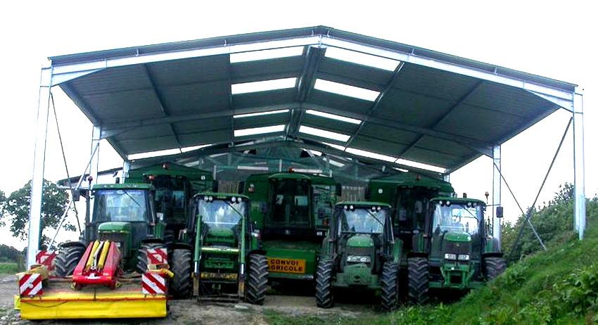 Naves agricolas prefabricadas para cultivos intensivos o for Cobertizos prefabricados