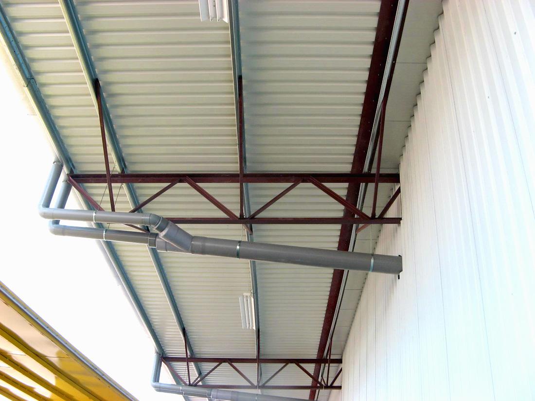 Naves industriales 42 €/m2, Estructuras metalicas, Nave industrial