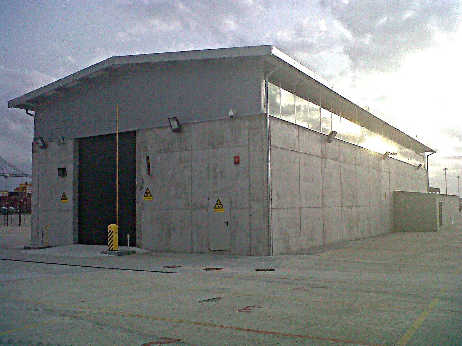 Naves industriales nave industrial para scaner proyecto - Fachada nave industrial ...