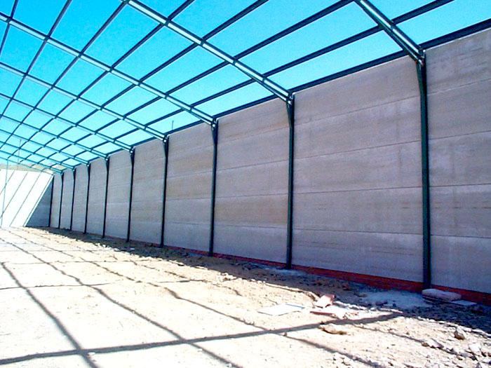 Nave industrial 42 m2 estructuras metalicas cubiertas - Fotos naves industriales ...
