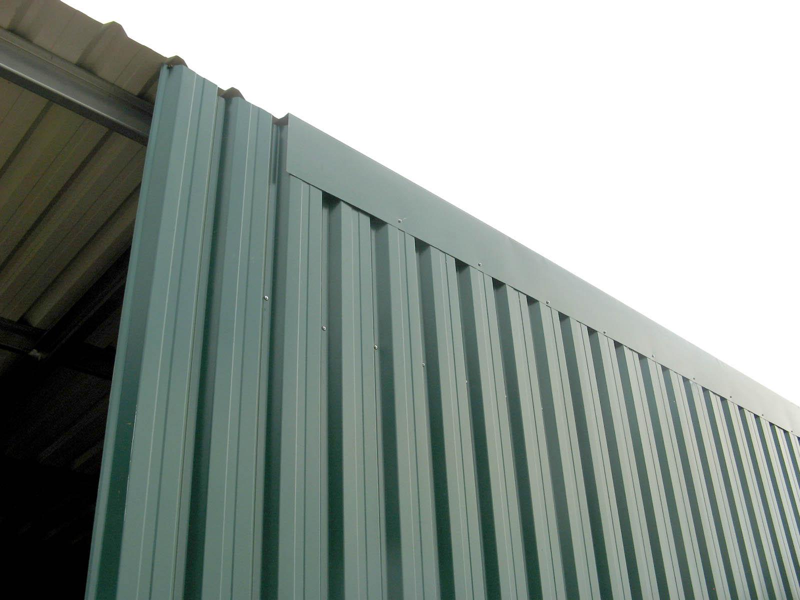 Proyecto nave industrial nave industrial 42 m2 for Laminas de plastico para paredes