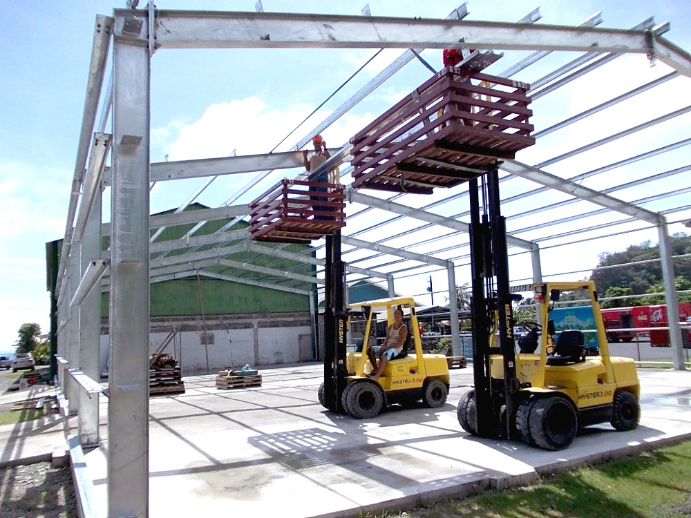 Estructuras metalicas desmontables 22 m2 suminis 42 - Empresas de montaje ...